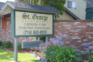 St George Welcome Sign